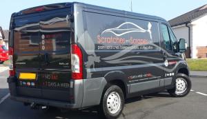Mobile Car Body Workshop in Merthyr, Wales